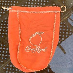 🥃Crown Royal Peach 🍑 Bag